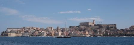 Gaeta Harbour and old town