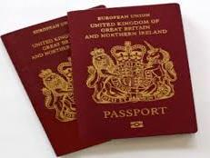 Oh no - new passport needed!